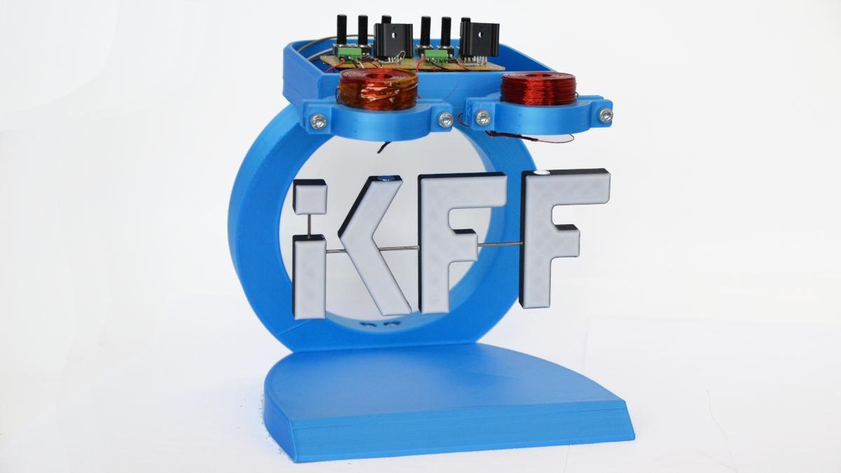 schwebendes IKFF-Logo