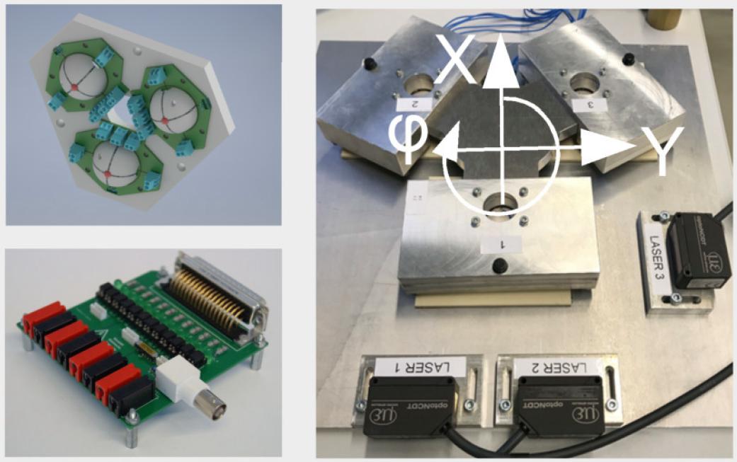 3D-Piezo-Antrieb Demonstrator